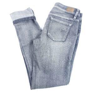 American Rag Super Skinny Gray Wash Jeans Size 3S